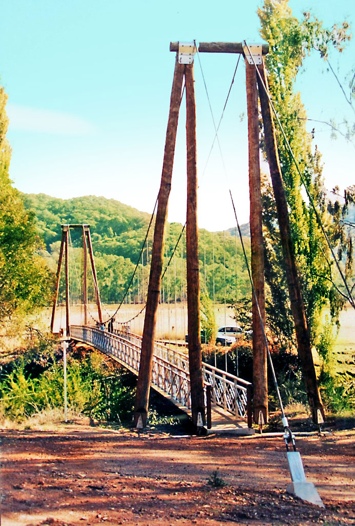 Tutmut River Suspension Bridge